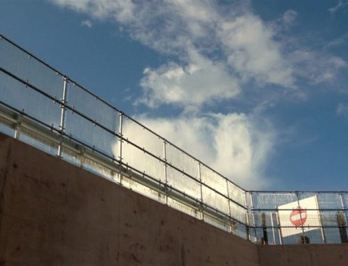 R08 Metal Grid Panel High Level Security Barrier Railings Superstore Sheffield