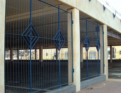 R01 Decorative Metal Railings Redcar