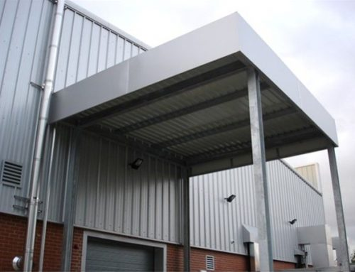 PM07 Metal and Cladd External Loading Bay Cover