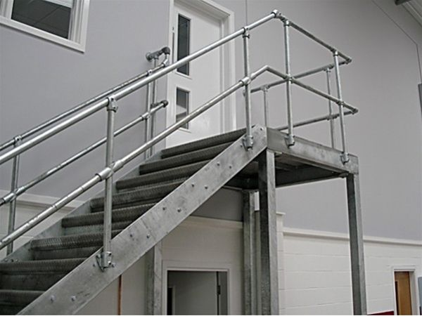 PM01 Metal Staircase to Warehouse Huddersfield