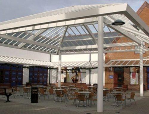 P03 Patent Glazed Glass Roof Courtyard Pavilion Gretna