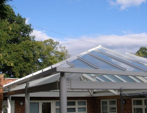 P02 Patent Glazed Playground Pavilion to School Coventry