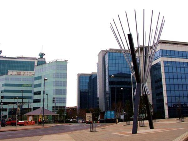 SP05 Fabricated Metal Sculpture Exchange Quay