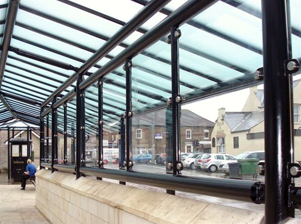 SP07 Typical Glazing Infill Panels