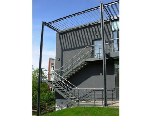 PM02 High Level Metal Walkway Loughborough