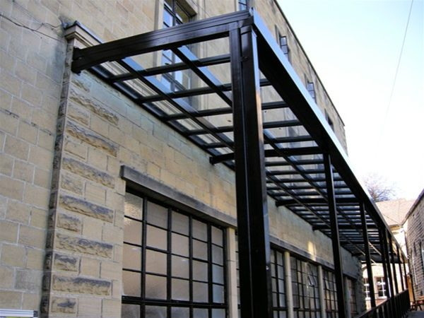 W21 Supported Glass Roof Walkway School Bradford – Urban Design