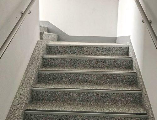 Deepwood Properties – Stainless Steel Handrail – Alston House, Bracknell.
