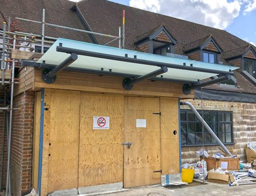 The Swan Hotel – Entrance Canopy – Essex