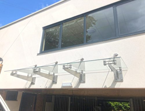 LCB Contractors – Frameless Canopies – Cardiff