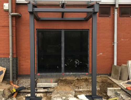 Kier Construction – Supported, Glazed Canopy – Leeds