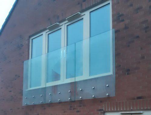 Strata Homes Ltd. – Frameless, Glazed Balustrades – Leeming Lane, Dishforth