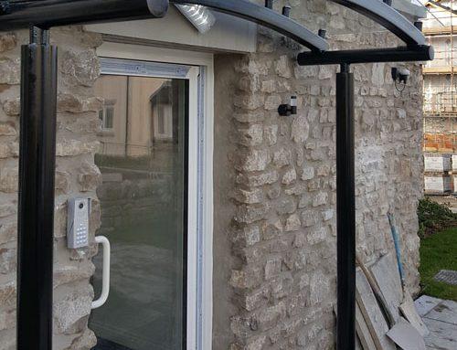 Oakmere Homes – Glazed Entrance Canopy – Kendal