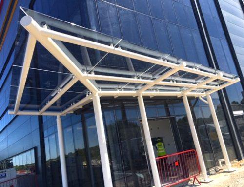 Ridgeway Facades – Entrance Canopy – DHL